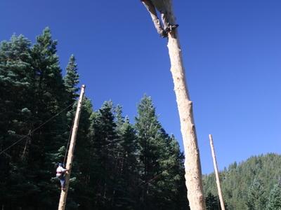 Philmont Scout Ranch Pole Climb Pueblano