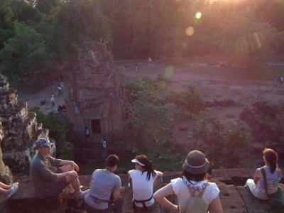 Phnom Bakheng - Viewpoint Of Sunset.
