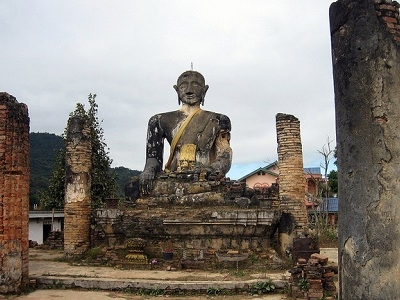 Piawat Temple In Xiengkhouang