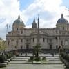 Piazza Dell'Esquilino With The Santa Maria Maggiore