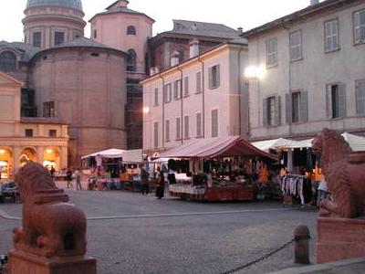 Piazza San Prospero In Reggio Emilia
