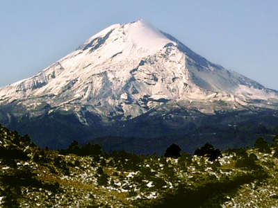 Pico De Orizaba Looking South