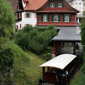 Valley Station Of The Stanserhorn Funicular