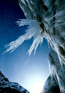 Ice Melting At Gangotri