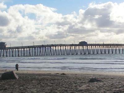 Pier At Imperial Beach