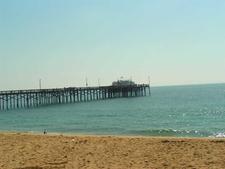 Pier At Newport Beach