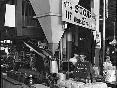 Pike Place Market Sugar Vendor