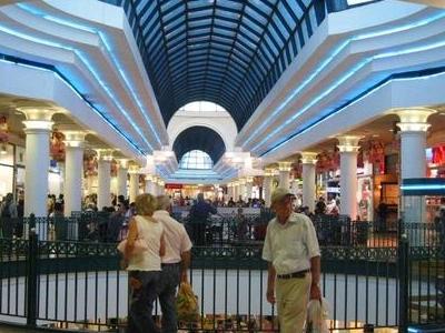 Inside The Malha Mall