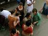 Pilgrims At Haridwar Ghats