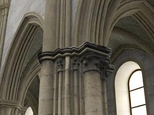 Pilar del siglo 12