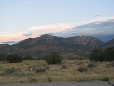 Pine Valley Mountains Dusk