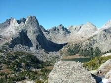 Pingora Peak And Lonsome Lake