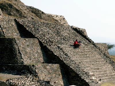 Pyramid At Tula Archaeological Site
