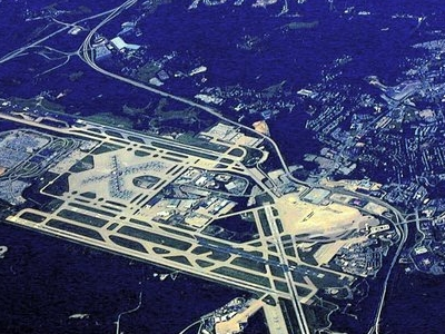 Pittsburgh  International  Airport Aerial View