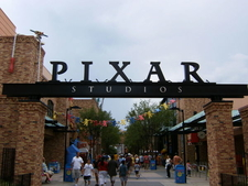 Entrance To Pixar Place