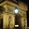 The Place Charles De Gaulle At Night