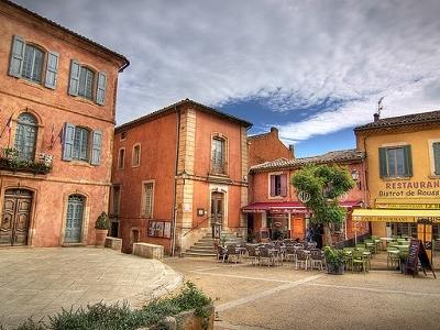 Place De La Mairie - Roussillon - Luberon Fr