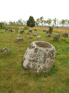 Plain Of Jars At Laos Phonsavan