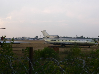 Plane Wrecks At  Moscow  Bykovo  Aeroport