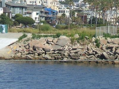 Playa Del Rey As Seen From Ballona Creek