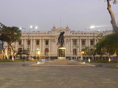 Plaza Bolivar  Lima  Peru