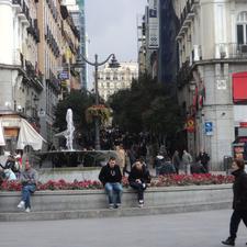 Plaza Del Sol Madrid Spain