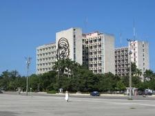 Ministry Of Interior Building In Plaza De La Revolución