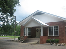 Pleasant Grove Baptist Church In Bienville Parish