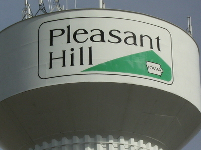 Pleasant Hills Water Tower With The City Logo