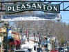 Pleasanton Sign On Main Street