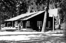Polebridge Ranger Station Historic District - Glacier - USA