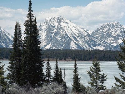 Polecat Creek Loop Views - Grand Tetons - Wyoming - USA