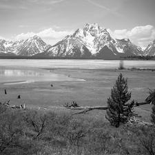 Polecat Creek Trailviews - Grand Tetons - Wyoming - USA