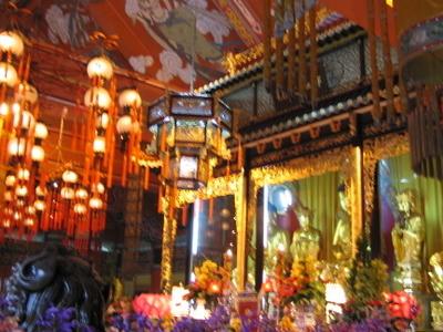 Po Lin Monastery Interior