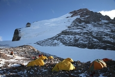 Polish Glacier - High Camp For Aconcagua