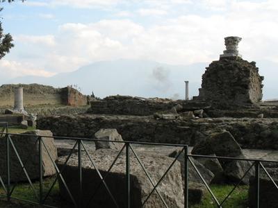 Pompeii  Temple Of  Venus