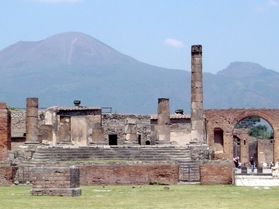The Temple Of Jupiter, Pompeii
