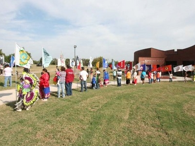 Ponca  City  Standing  Bear  Museum  Dedication