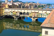 Ponte Vecchio Bridge From Uffizi - Florence