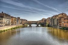 Ponte Vecchio Over Arno In Florence