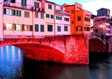 Ponte Vecchio Over Arno