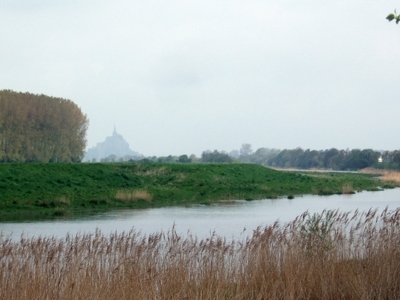 View From The Outskirts Of Pontorson