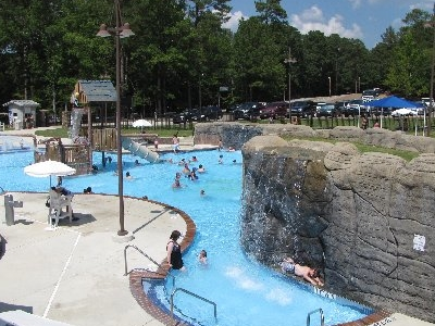 Pool At Crater Of Diamonds State Park
