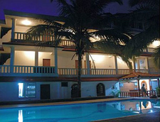 Pool Side Night View