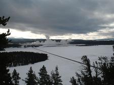 Porcupine Hill Geyser - Yellowstone - USA