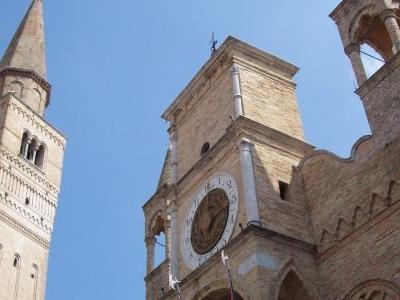 Pordenone City Hall And Campanile