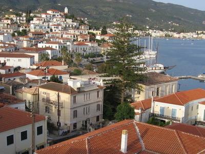 View Of Poros Town