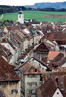 Old City Of Porrentruy