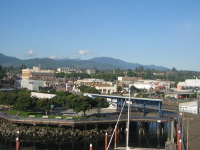 Port Angeles From The Pier Tower