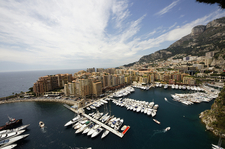 Port De Fontvieille Of Monaco